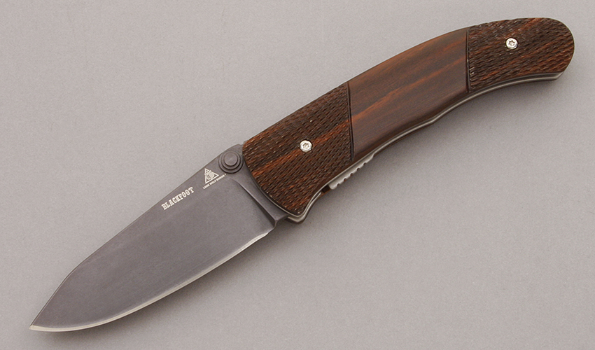 Lone Wolf Knives Blackfoot Linerlock Folder - KLC10223 | Cutting Edge