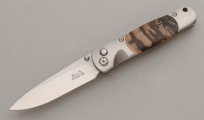 Santa Fe Stoneworks Tesoro Button Lock Folder