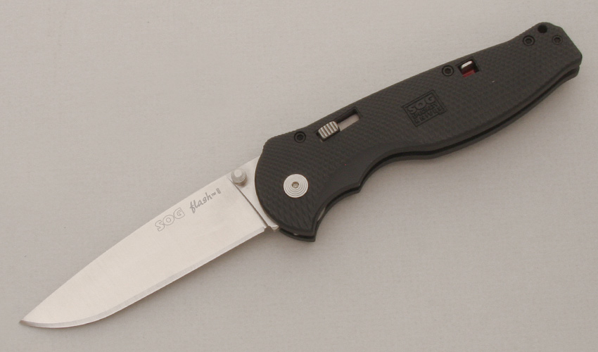 Sog Knives Flash II Assisted Open Folder