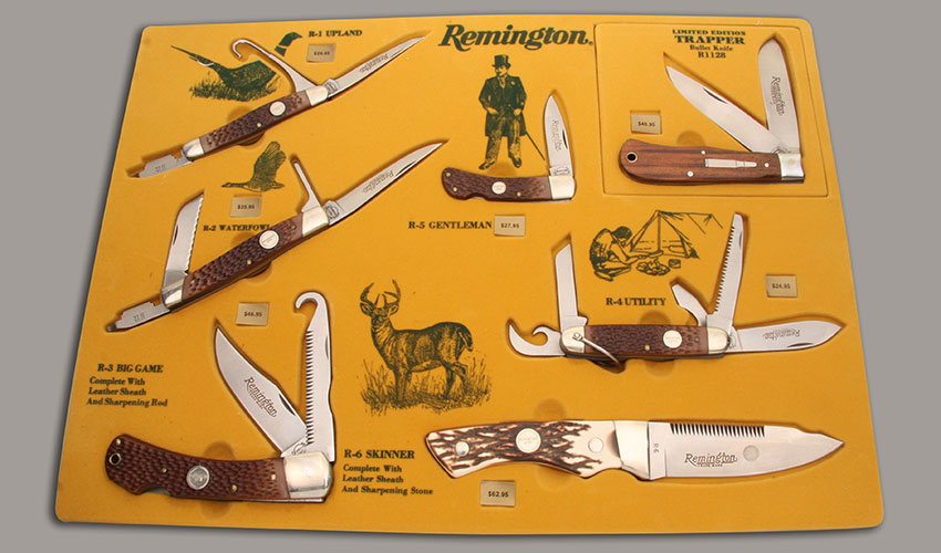 Remington Knives 7 Knife Display Set