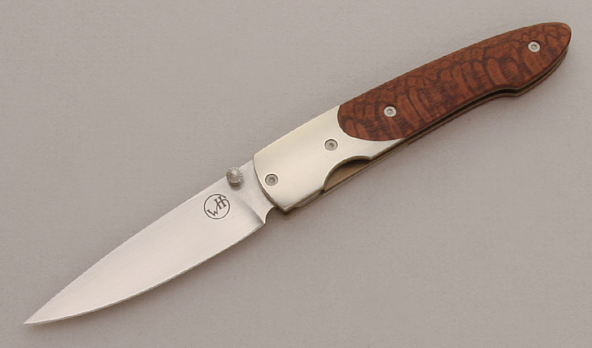 William Henry Knives WHT10-W Linerlock Folder
