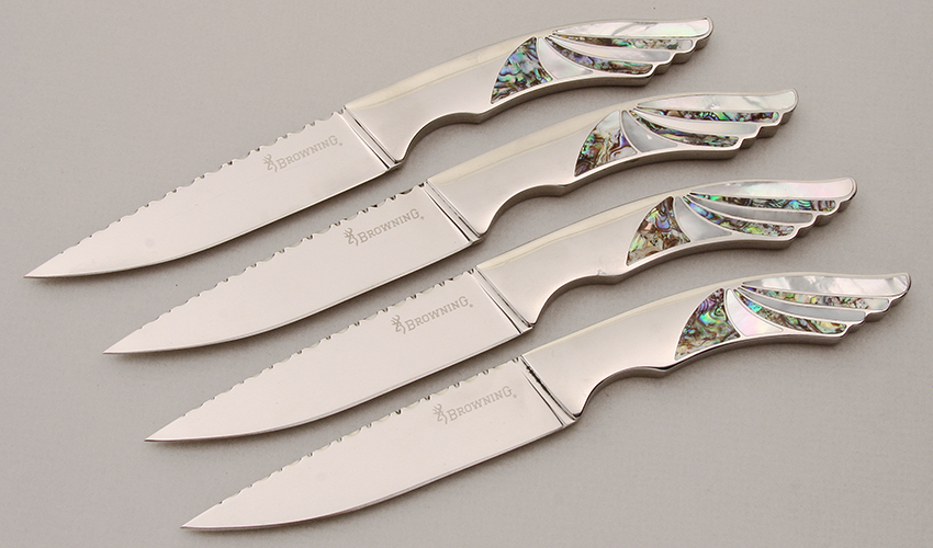 Browning Knives 4-PC Steak Knife Set